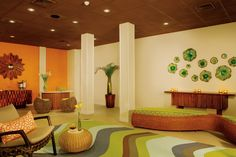 Sun Club guests can enjoy enhanced amenities at the Preferred Club Lounge in Curacao!