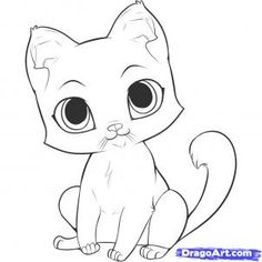 Cute cat! I want to draw this!