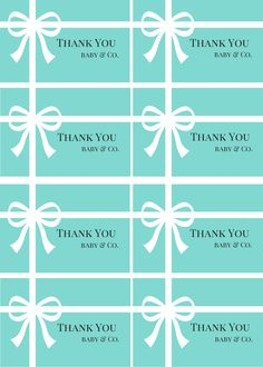 Free Tiffany Co Inspired Baby Shower Invitations Baby Shower