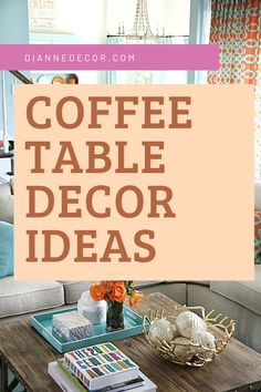 Coffee table decorating has evolved from a place to serve coffee to a decorative focal point for your living room. But, is it too much?    #coffeetabledecorating #coffeetable #coffeetabledecor #tabletopdecor #coffeetablestyling #homedecorating #coffeetableideas Coffee Table Plants, Coffee Table Styling, Decorating Coffee Tables, Coffee Table Inspiration, Living Room Decor Inspiration, Decorating On A Budget, Decorating Blogs, Learn Interior Design, Home Decor Styles