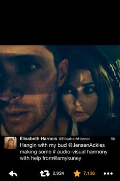Elisabeth Harnoi (Piper from Ten Inch Hero) and Jensen. Labor Day weekend