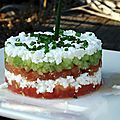 C'est Bon ? Tartare tomate, concombre, feta (KMD – how excited I am to make this when my garden tomatoes ripen! Tapas, Vegetarian Recipes, Cooking Recipes, Food Porn, Salty Foods, Queso Feta, No Cook Meals, Summer Recipes, Love Food