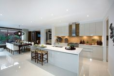 I just viewed this inspiring Brookwater 49 Kitchen  image on the Porter Davis website. Check it out yourself and get inspired!  What are those tiles?
