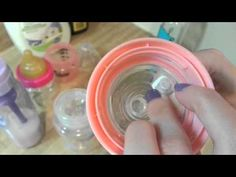 How to make a baby bottle and pacifier for doll (Monster High, EAH, Barbie, etc) - YouTube