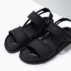 SANDALIA COMBINADA - Zapatos - HOMBRE | ZARA España