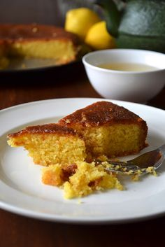 Gâteau de polenta au citron - Tried it, Loved it!
