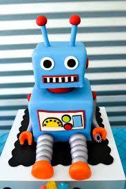 Image result for ROBOT CAKE