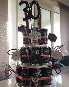 Whiskey cake for birthday - make money gifts - . - Whiskey cake for birthday – make money gifts – - Happy Birthday Cards, Birthday Presents, 30th Birthday, Birthday Cake, Invitation Birthday, Whiskey Cake, Sweet Pie, Birthdays, Holiday Decor