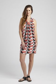 The Anya in Roulette is the perfect Sleeveless Dress for spring and summer