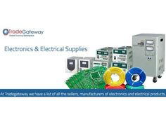 Electrical Supplies Exporters and Electronics Products Exporters New Delhi - WikiDok