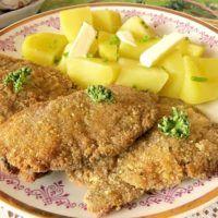 Recept : Hlíva vsýrovém obalu | ReceptyOnLine.cz - kuchařka, recepty a inspirace Cordon Bleu, Cornbread, Mashed Potatoes, Stuffed Mushrooms, Pork, Food And Drink, Meat, Chicken, Cooking