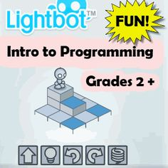 """Lightbot"" teachers young kids How to Code :  Programming can be fun!!"