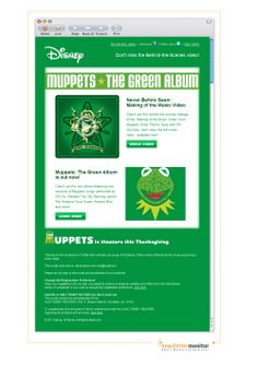 Brand: Walt Disney Records | Subject: You're invited: Behind the Scenes with the Muppets & OK GO