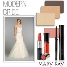 """Modern Bride"" by marykayus on Polyvore Contact me for a bridal consultation and I do makeup free of charge for the big day :) www.marykay.com/crystalesantos"