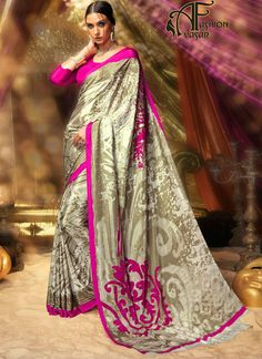 Party Wear Sarees Buy Printed Latest Party Wear Saree Online