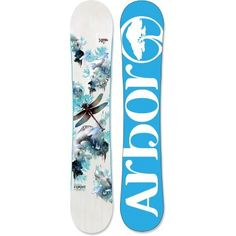 Arbor Flight Snowboard  - for the big-mountain women riders in your life.  REI Exclusive!
