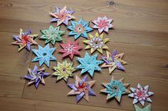 Teepapier-Verpackungs-Sterne machen Laune und lassen sich einfach falten, wenn ich weiß wie's geht