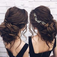 updo wedding hairstyle for long hair #weddinghairstyles #bridalhairstyle #bridalupdos #weddinghairstyle