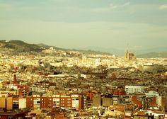 Vista de Montjuic - Barcelona - Espanha