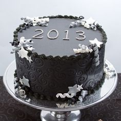 Cake Decorating Quorn : Happy New Year ! by Felicitaartjes New Years Pinterest ...