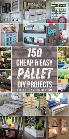 Outdoor Pallet Projects, Pallet Home Decor, Easy Wood Projects, Diy Pallet Furniture, Diy Furniture Projects, Diy Furniture Made From Pallets, Diy Wood Crafts, Wooden Pallet Crafts, Wood Pallet Art