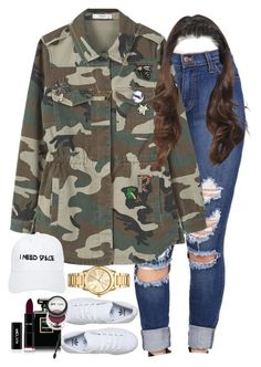"""""""11.25.16"""" by mcmlxxi ❤ liked on Polyvore featuring MANGO, adidas, Nasaseasons, Michael Kors, Chanel and Wanderlust + Co"""