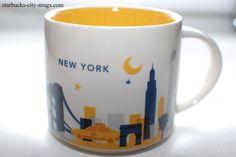 New York | YOU ARE HERE SERIES | Starbucks City Mugs