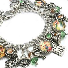 Witch - Charm - Bracelet - Halloween - Jewelry