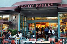 Porto's Bakery. Always packed and great food. The flourless chocolate cake was the best!
