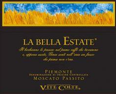 La Bella Estate - Vite Colte - Moscato Passito #naming #branding #packaging #design #vino