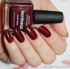 My life in color: Picture Polish Bordeaux