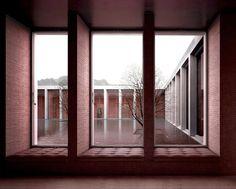 Interior View towards Courtyard