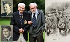 Friendship between two downed RAF airmen forged in WW2 POW camp lasts #DailyMail