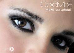 Maquillaje social por alumna del curso de maquillaje profesional.