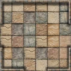 Dundjinni Mapping Software - Forums: Mansion House Tiles - lots of them! Dungeon Room, Dungeon Tiles, Dungeon Maps, Fantasy Map, Medieval Fantasy, Diorama, Rpg Map, Adventure Map, Dnd Art
