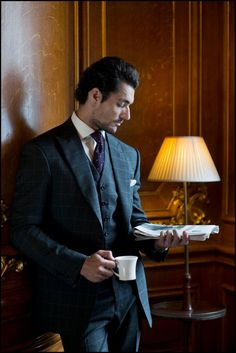 Twitter / DGandyOfficial: On location at the Royal Automobile Club by @richhphoto for @HenryPooleCo