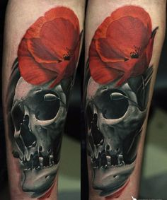 poppy flower tattoo 16 - 70 Poppy Flower Tattoo Ideas  <3 <3