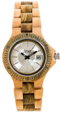 Tense Wooden Watches: Unique time-pieces made in Canada : Whistler - Mode G4102MG-SILV [G4102MG-SILV] - $149.00USD