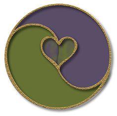 yin yang heart...love and balance  dreambigcollection.com