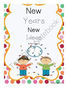 New Years Centers from Teresa Gregorio on TeachersNotebook.com (51 pages)