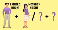 It got pretty damn close to my actual height. Cool! | ASimple Way toPredict How Tall Your Child Will Grow