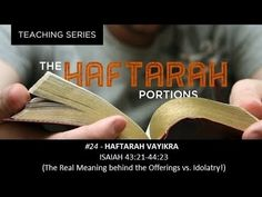 In this Haftarah for Parashah Vayikra Pastor Isaac reveals the beautiful lessons of how to love God and our fellow man behind the Torah portion instruct. Torah, Behind, No Response, Meant To Be, Teaching, Education, Onderwijs, Learning, Tutorials