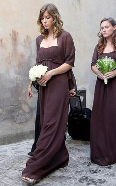 Jessica Biel bridesmaid