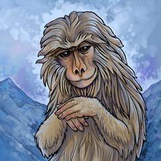 ...Monkey Tile by `ursulav on deviantART