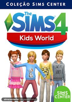 The sims 4 kids world - sims center Sims 4 Mods, Sims 4 Game Mods, The Sims 4 Kids, Sims 4 Children, Sims 4 Toddler, Packs The Sims 4, Sims 4 Game Packs, Sims Four, Sims 4 Mm Cc