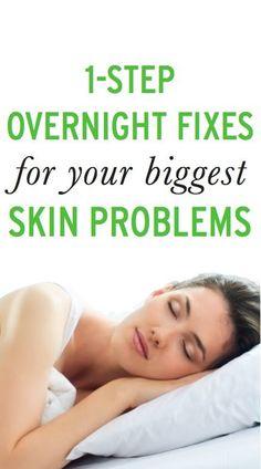 4 ways to get amazing skin while you sleep