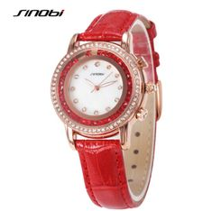 SINOBI Watch Top Brand Luxury Rhinestone Wristwatches Diamond Watch Women Watches Fashion Rose Gold Quartz Watch Montre Femme Like and share if you think it`s fantastic! Visit us