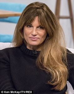 Jemima Goldsmith has worn her hair the same way ever since she was a girl...