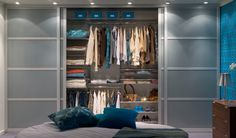 Bedroom Wardrobe Built In Sliding Doors. Fixing The PAX Sliding Door IKEA Hackers. Home Design Ideas Glass Wardrobe Doors, Wardrobe Door Designs, Sliding Wardrobe Doors, Closet Designs, Sliding Doors, Glass Doors, Bedroom Built In Wardrobe, Wardrobe Storage, Closet Bedroom