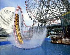 Top Speed Roller Coaster in the world!     #rollercoaster #speed #fun #themepark #hellomakassar #holiday